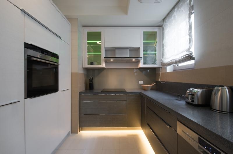Kuchnie na wymiar mieszkanie od a do z - Cocinas alargadas y estrechas fotos ...